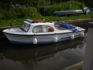 Sutton Staithe Boatyard Day Boat  5
