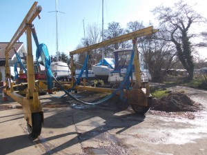 Sutton Staithe Boatyard Lifting gear 3